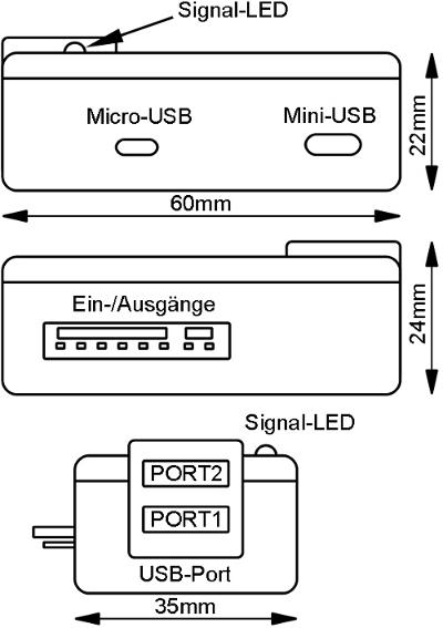 Aufbau der MicroGuard-LTE Modul Fernbedienung für Standheizung